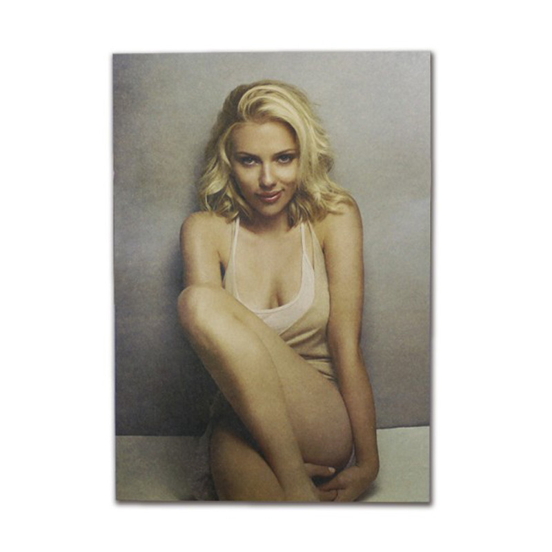 Scarlett Johansson Decor Vintage Kraft Paper Movie Poster Home Wall Decoration Art Magazines Retro Posters And Prints
