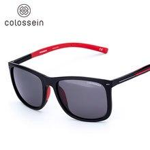 COLOSSEIN sun glasses Brand design Sunglasses TR90-Unbreakable light-weight Frame with Polarized sunglass Lens oculos de sol
