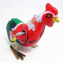 Ironhide wind up toy animal rooster model toy children good gift baby toy