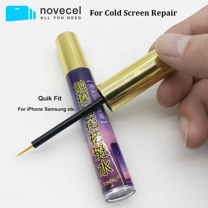 Novecel For LCD Display For iPhone For samsung Scratch Repair LCD Digitizer Refurbish Liquid image