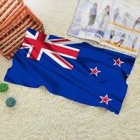 New Zealand Flag Travel Swim Spa Beach Towel For Kids Adults Baby Bathroom Textile 70 140CM