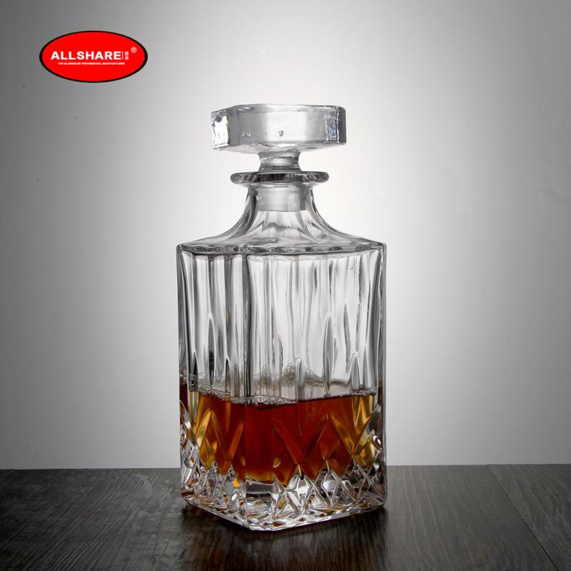 whiskey glass bottle set 03