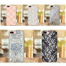 White Burlap Laces Vintage Shell For Huawei Honor 5A 6A 6C 7A 7C 7X 8A 8C 8X 9 10 P8 P9 P10 P20 P30 Mini Lite Plus(China)