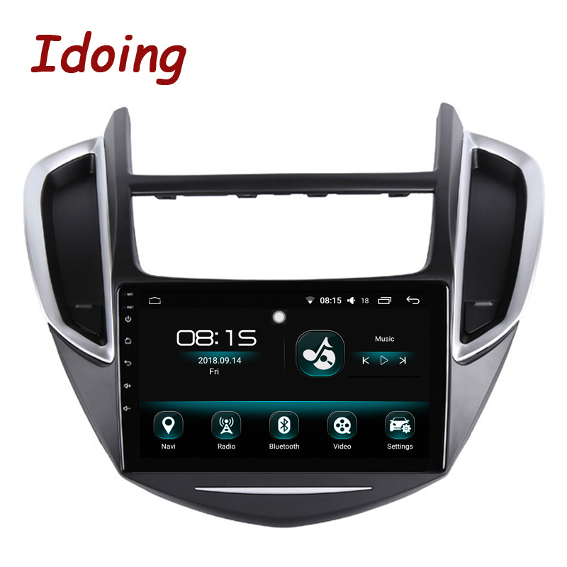 Idoing 9 Android 8 0 Car GPS Player for Chevrolet Trax 2013 2016 Octa Core 4GB
