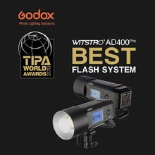 Godox AD400Pro Witstro 400ws GN72 Flash Lithium Battery TTL 1/8000 HSS With XProN TTL Trigger Kit for Nikon Camera yongnuo yn622c kit wireless e ttl hss flash trigger kit yn622c 622c transceiver