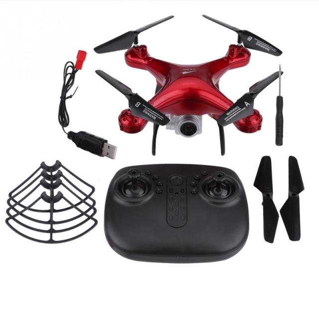 2.4GHz RC Remote Control Quadcopter drones with camera hd 480P 720P 1080P Camera Wifi Transmission Plastic + Metal RC DroneFPVRC Helicopters