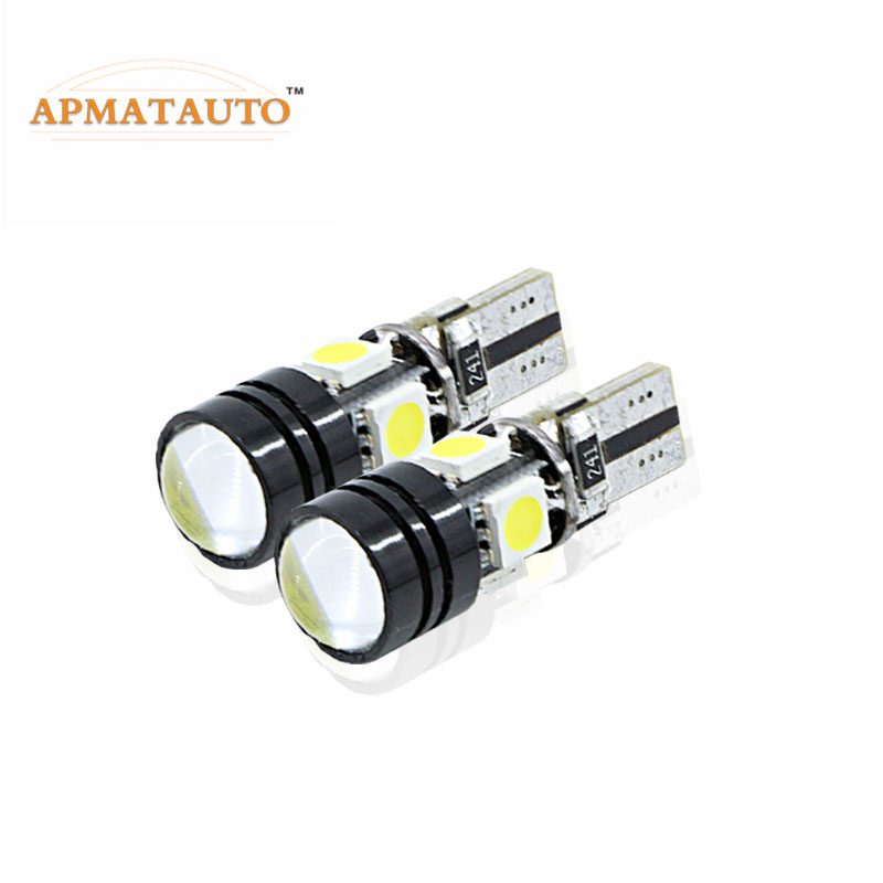 2pcs led W5W T10 canbus no error car parking bulbs light for Land Rover v8 discovery 4 2 3 x8 freelander 2 defender A8 a9 набор фиксаторов для дизельных двигателей land rover 2 5 td5 jonnesway al010231