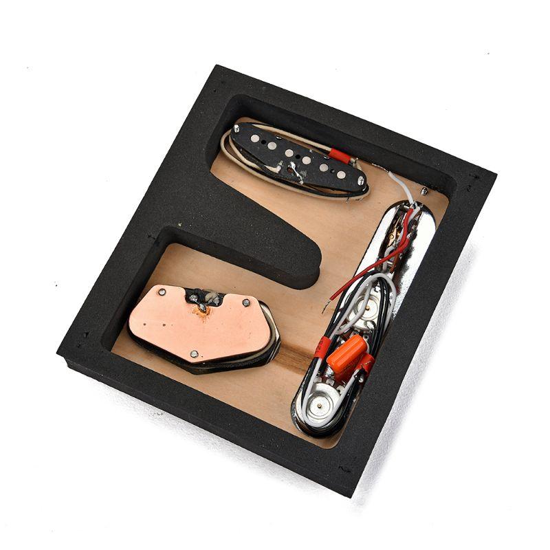 Set de ramassage plaque de contrôle pour antiquité TL guitare 6 cordes 3 selle
