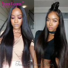 Top Quality High Ponytail Full Lace Wigs Silky Straight Virgin Lace Front Wig Malaysian Full Lace