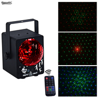 mini laserstagelighting RGB Projector DJ Disco Home light Party Spot Lights forsale