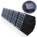 39w 18v/5v Dual output waterproof outdoor foldable folding solar panel charger external 12v battery device charger for Laptops