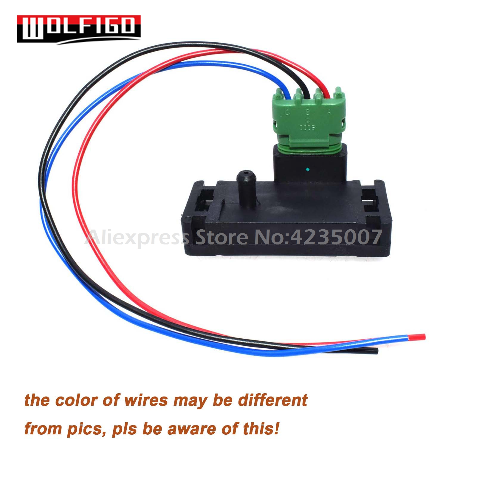 hight resolution of wolfigo new 1 bar map sensor with pigtail connector plug wire 16040749 12223861 for chevy