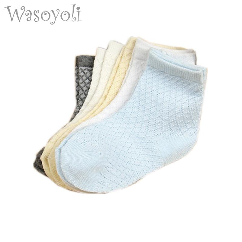 Șosete scurte Wasoyoli Baby 5 perechi / loturi 0-24 luni băieți - Haine bebeluși