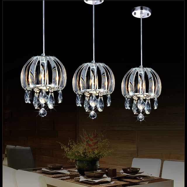 Modern pendant lamp crystal kitchen pendant lighting contemporary pendant lighting crystal island lights led indoor lighting