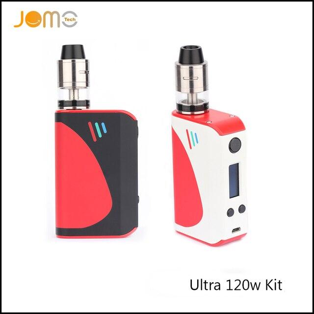 2017 Temperature Control Vape Mod Ultra 120 VTC Box Mod SS/Ti/Ni TC Mods 5000mAh VW Electronic Cigarette Kit 5-120W Mod Jomo-192