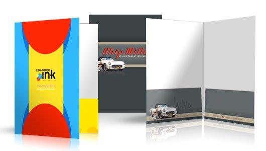 A4,A3 size  presentation folder printing