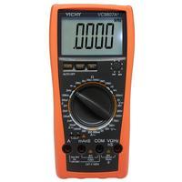 فيشي VC9807A + 4 1/2 رقمي متعدد AC/DC Va R C التكرار مع شاشة الكريستال السائل عالية الدقة اختبار عدادات مترية متعددة    -