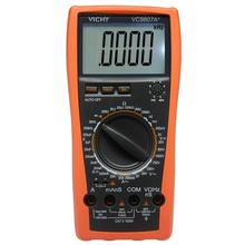 VICI VC9807A + 4 1/2 Digital MultiMeter AC/DC V EINE R C Freq mit LCD Display Hohe präzision tester