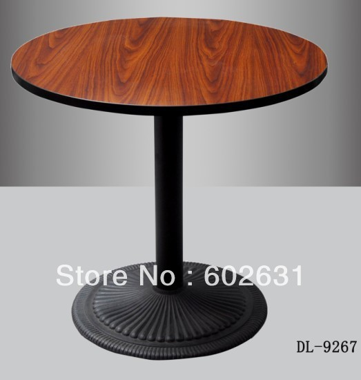 powder coated Cast iron base quality Bar table