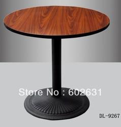 powder coated Cast iron base quality Bar table