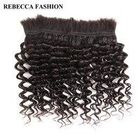 Rebecca Brazilian Remy Deep Wave Bulk Human Hair For Braiding 1 Bundle Free Shipping 10 To