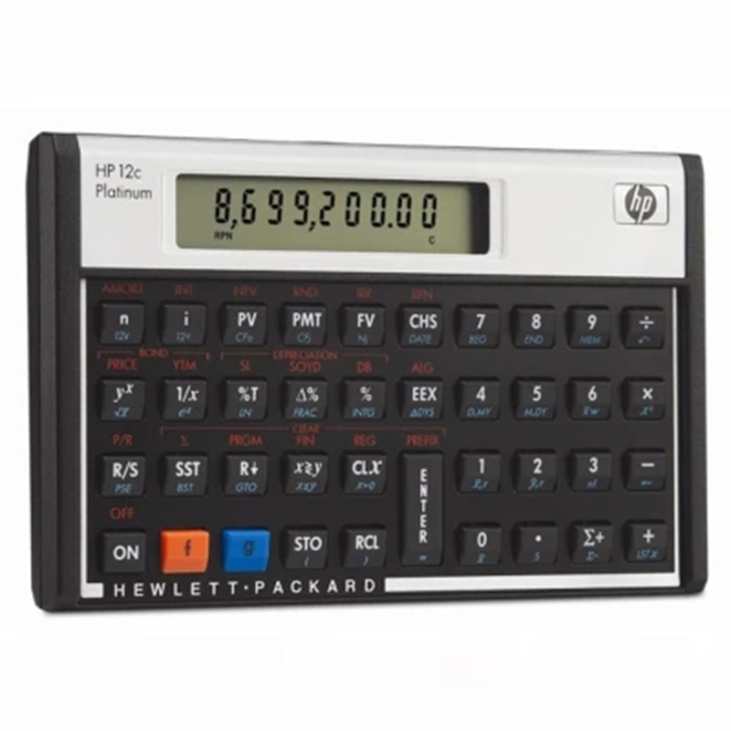 2018 Hot Sale HP 12C Platinum Financial Calculator & populær Calculadora