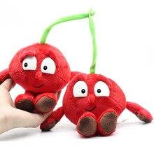 """Новые фрукты овощи вишня гриб арбуз синяя ягода """" Мягкие плюшевые игрушки куклы"""