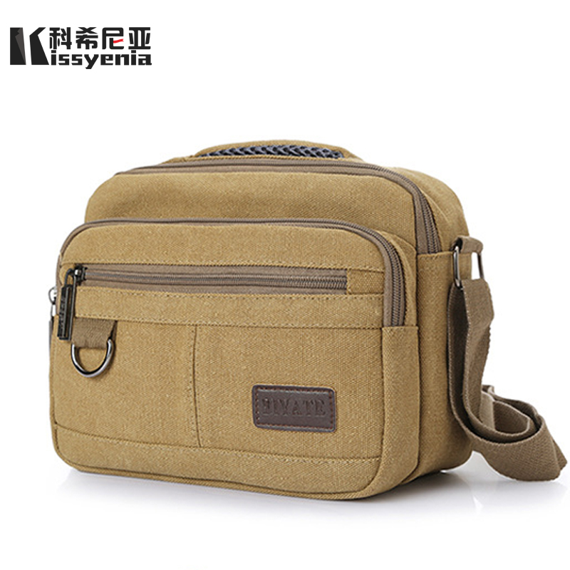 Crossbody Canvas Bags Flaps Designer Multifunction Bags Vintage Canvas Messenger Bags KS1182