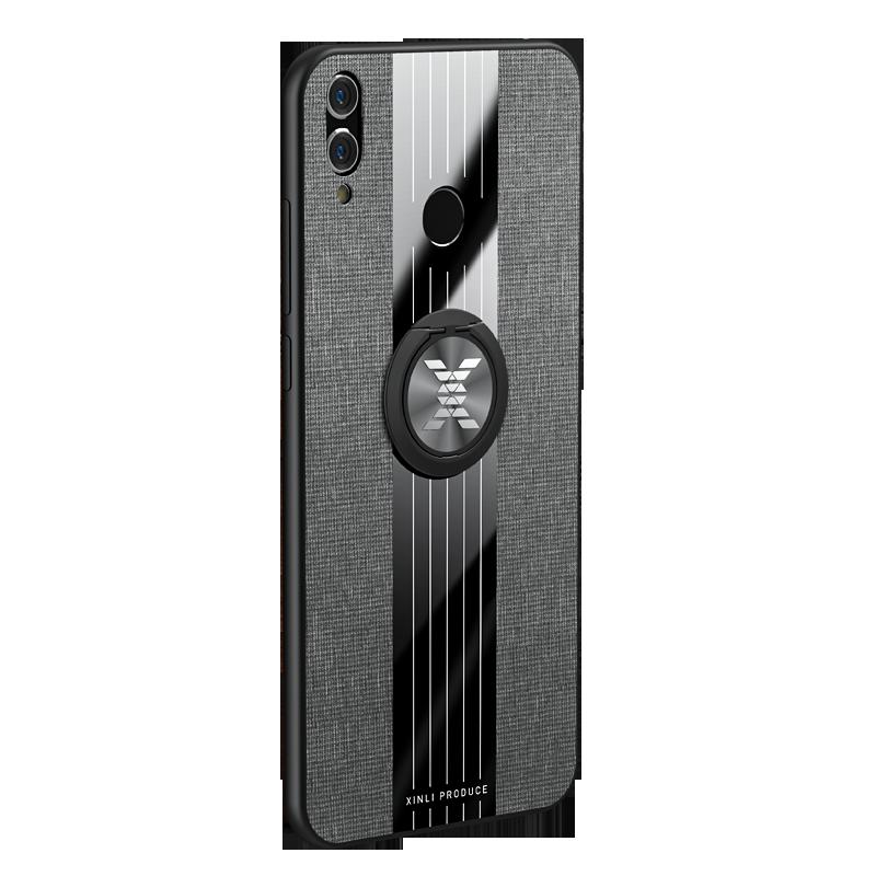 Per Huawei Honor Caso di 8X Opaco Panno Lucida Della Copertura Per Huawei Honor 7X6X8 X Max Antiurto cassa del telefono con Anello Magnetico Del Supporto