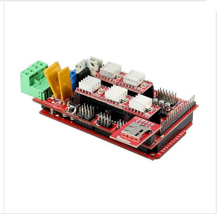 DuoWeiSi 3D Printer parts 3D Printer DIY Kit Ramps1.4 A4988 Mega2560 MicroSD Endstop Thermistor endstop mechanical limit switches 3d printer switch for ramps 1 4 free shipping dropshipping