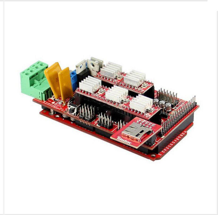 DuoWeiSi 3D Printer parts 3D Printer DIY Kit Ramps1.4 A4988 Mega2560 MicroSD Endstop Thermistor duoweisi 3d printer parts cubieboard3 a20 dual core development board cubietruck kit