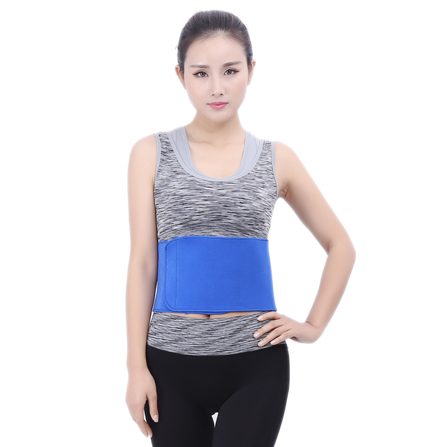 DYROREFL Waist Trimmer Belt Sweat Wrap Tummy Stomach Weight Loss Fat Slimming Exercise Belly Body Beauty Waist Support 2