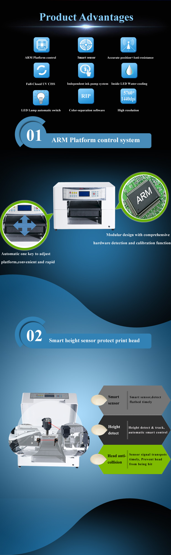 Multi-Functional Printer-UV Printing Machine-3D Embossed Effect