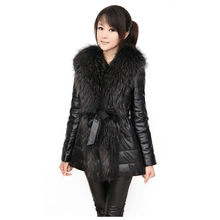 Faux fur coat women S-6XL plus size slim 2019 new autumn winter korean black long sleeve fashion Faux fur jacket feminina LR334(China)