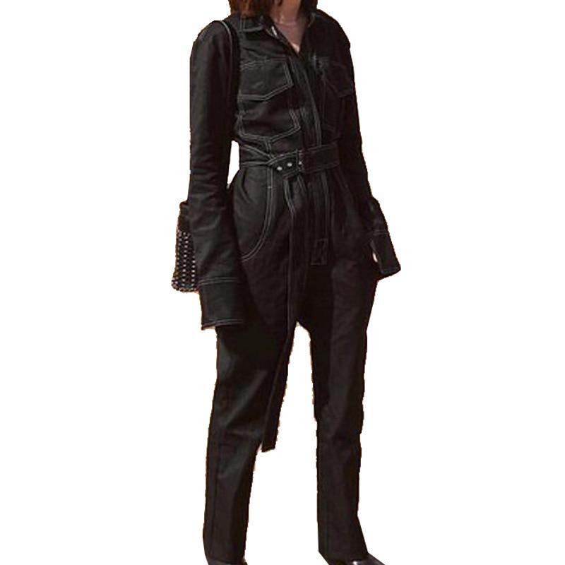 High Waist   Pants   Camouflage Loose Joggers Army Harem Camo   Pants   Women Streetwear Punk Black Cargo   Pants     Capris   Trousers L222