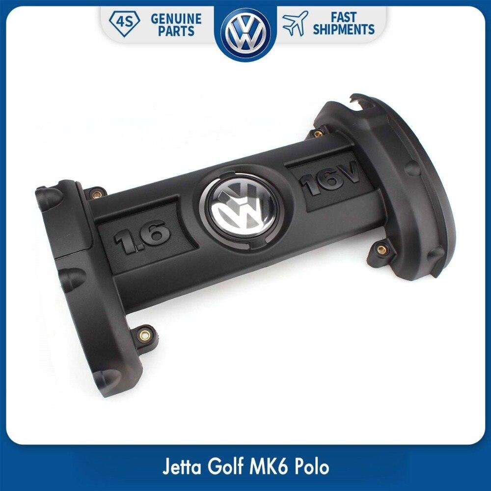 OEM Kunststoff TSI Motor Abdeckung 03C 103 925 EINE fit für Volkswagen VW Jetta Golf MK6 Polo 2006 2007 2008 2009 2010 03C103925A