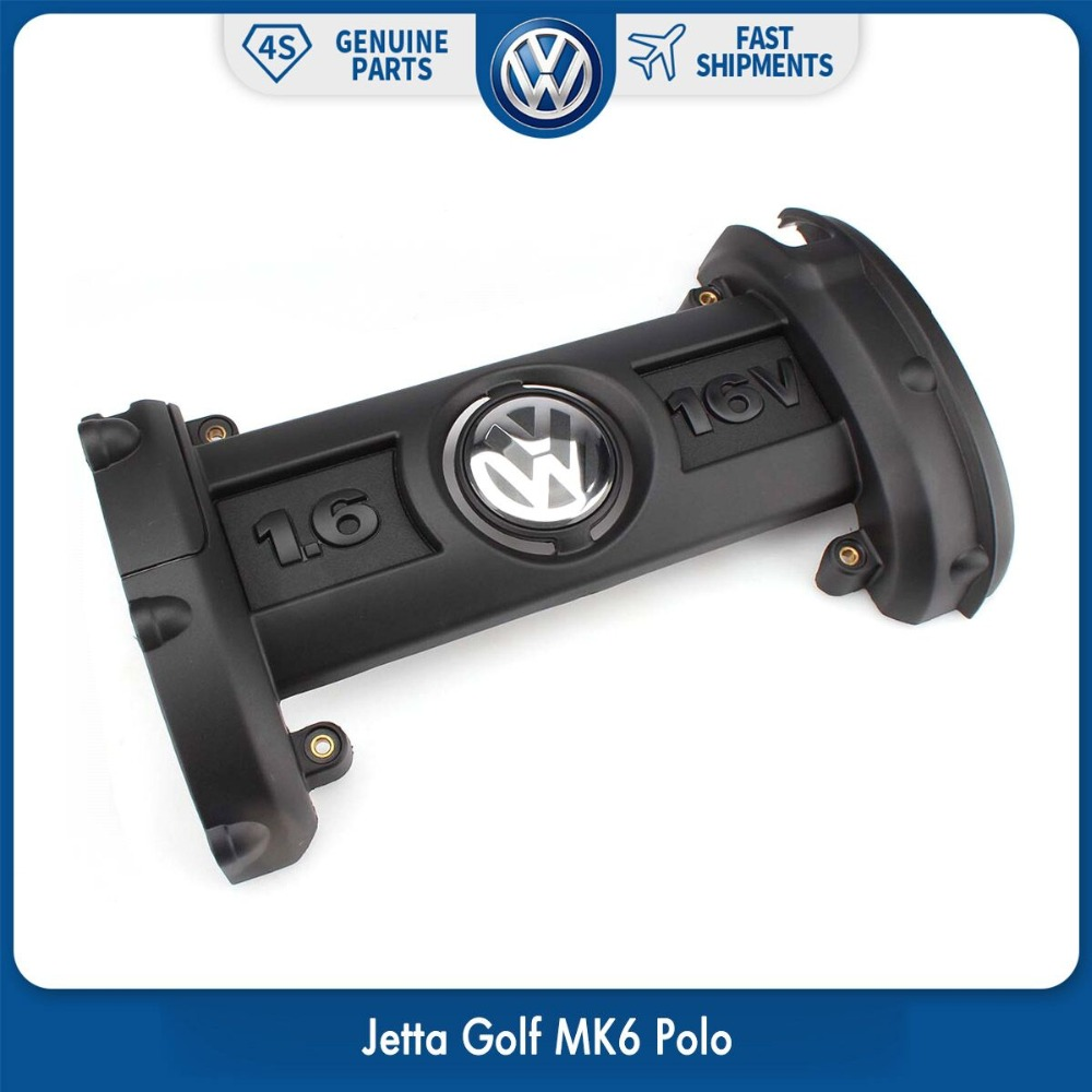 03c 103 925 af - OEM Plastic TSI Engine Cover 03C 103 925 A fit for Volkswagen VW Jetta Golf MK6 Polo 2006 2007 2008 2009 2010