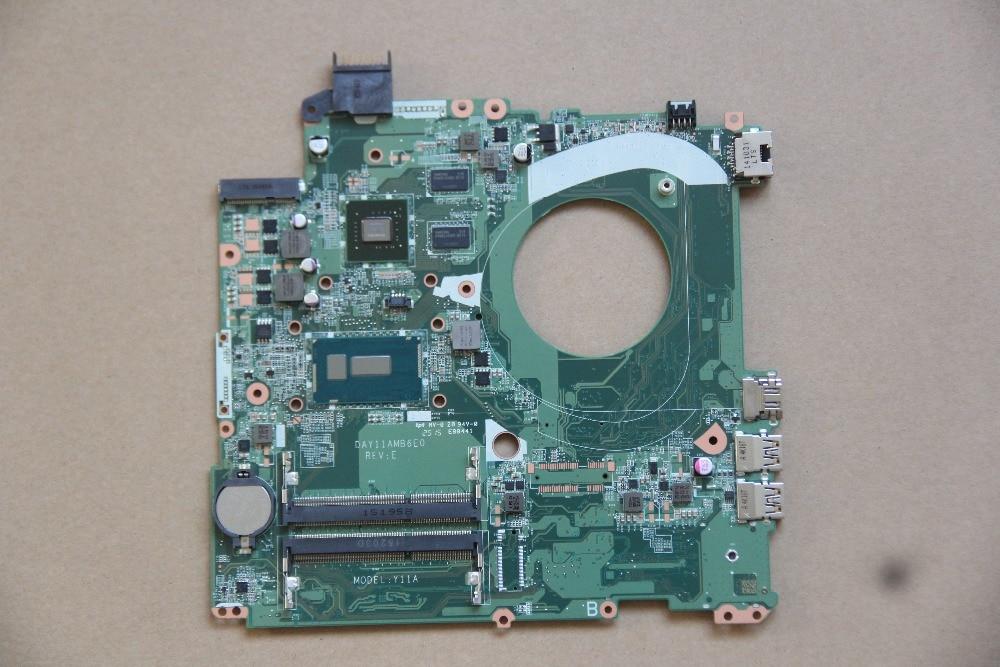 DAY11AMB6E0 для hp 15 P Материнская плата ноутбука Y11A с I3 5010U Процессор и N15S GM S A2 GPU на борту DDR3 полностью протестирована