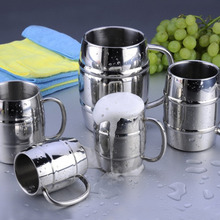 400ml Stainless Steel Mug With Handle Coffee Beer Cup Double Wall Water Mug Traveling Outdoor Camping Sports Mugs For Home Bar цена 2017