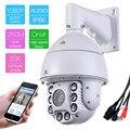805-D20XC audio Ao Ar Livre 250 m IR-CUT Night Vision IP 2MP 1080 P 20 ZOOM250m Laser de Rede de Alta Velocidade Dome PTZ Onvif Câmera de segurança