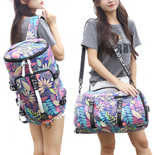 Waterproof canvas gym backpack men women message travel mountaineering single shoulder bag  yoga fitness handbag crossbody