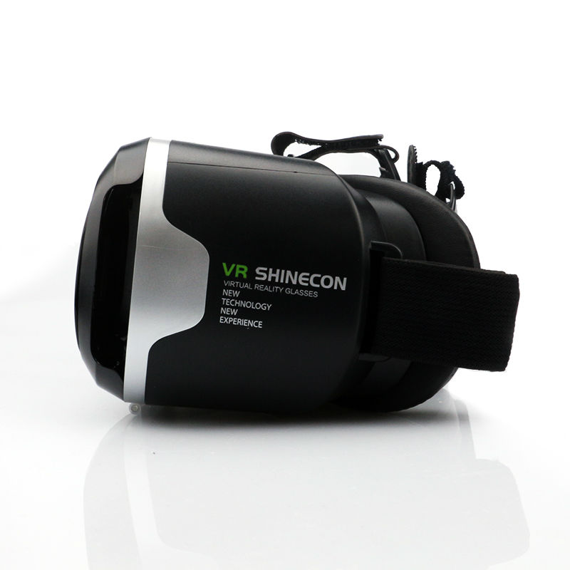 VR Shinecon 2.0 Google Cardboard VR BOX 2.0 Virtual Reality goggles VR 3D Glasses Immersive for 4.5-6.0 inch smartphones 14