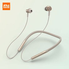 Xiaomi Bluetooth Neckband Collar Earphone Sport Wireless Headset Magnetic With Mic Hybrid Dual Driver Dynamic In-Ear original xiaomi bluetooth collar earphone sport wireless bluetooth headset in ear magnetic mic play dual dynamic headphone