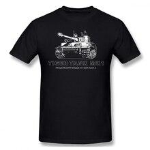 Wehrmacht T Shirt Tiger Tank Mark 1 T-Shirt Awesome Printed Tee 100 Cotton Man 6xl Short Sleeves Casual Tshirt