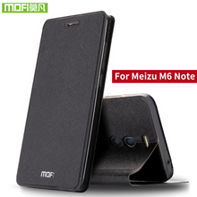 For Meizu M6 Note case For Meizu M6 Note case cover silicone flip leather hard metal plastic mofi 360 For MeiZu M6 Note case 3D cheap flip cases Waterproof Heavy Duty Protection Anti-knock Kickstand Dirt-resistant Matte Business Plain Metallic for Meizu M6 Note 5 5 inches case