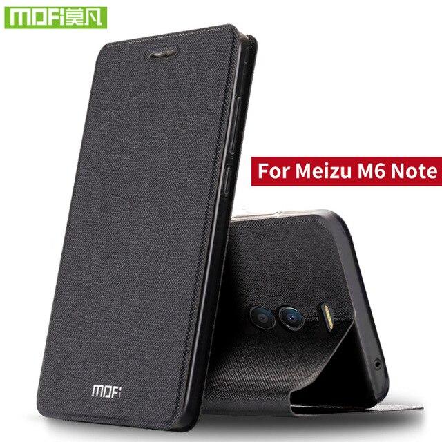 Para o caso Nota Para Meizu Meizu M6 M6 tampa da caixa Nota silicone bolsa em couro flip mofi rígido de metal plástico 360 Para MeiZu M6 caso Nota 3D