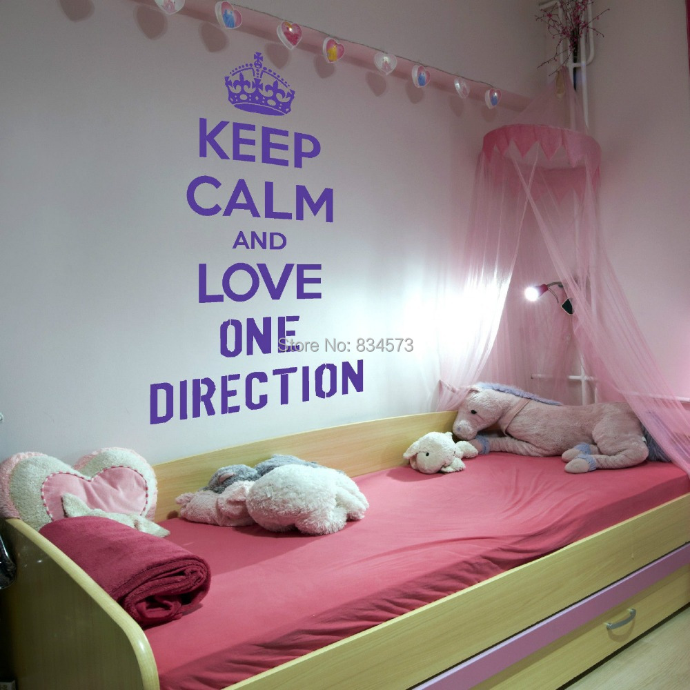 One Direction Wallpaper For Bedroom Online Get Cheap Wall Decal One Direction Aliexpresscom