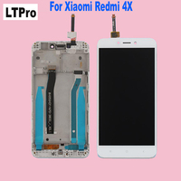 100 Tested 5 0 LCD Display Touch Screen Digitizer Panel Assembly With Frame For Xiaomi Redmi