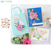 BM New Design Flower Metal Cutting Dies Stencil for DIY Scrapbooking Album Embossing Paper Cards