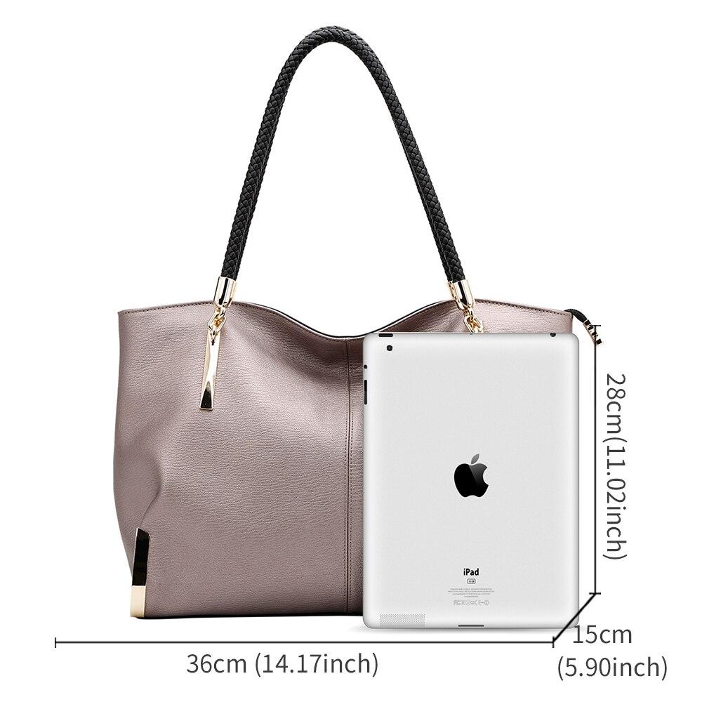 Designer luxury leather shoulder bag 7
